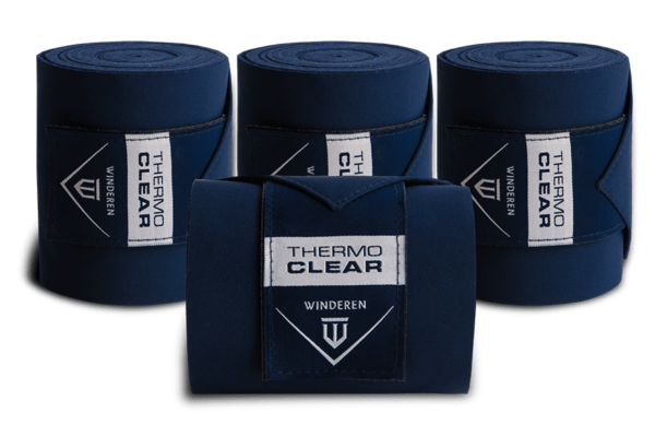 Thermo Clear stalbandages Navy