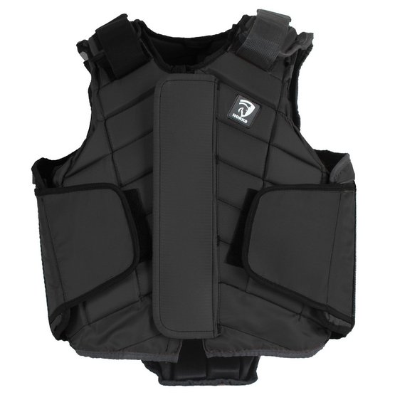 Flexplus bodyprotector junior zwart