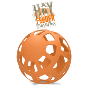 Hay Slowfeeder fun and flex 22 cm oranje