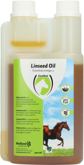 Linseed Oil (Lijnzaadolie) 500ml