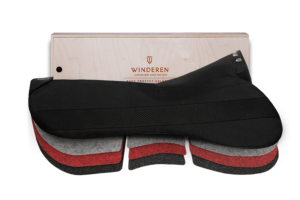 Winderen Springzadelonderlegger Correction Comfort coal