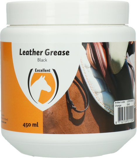 Leather Grease zwart