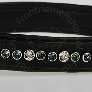 Swarovski halsband brilliance denim blue
